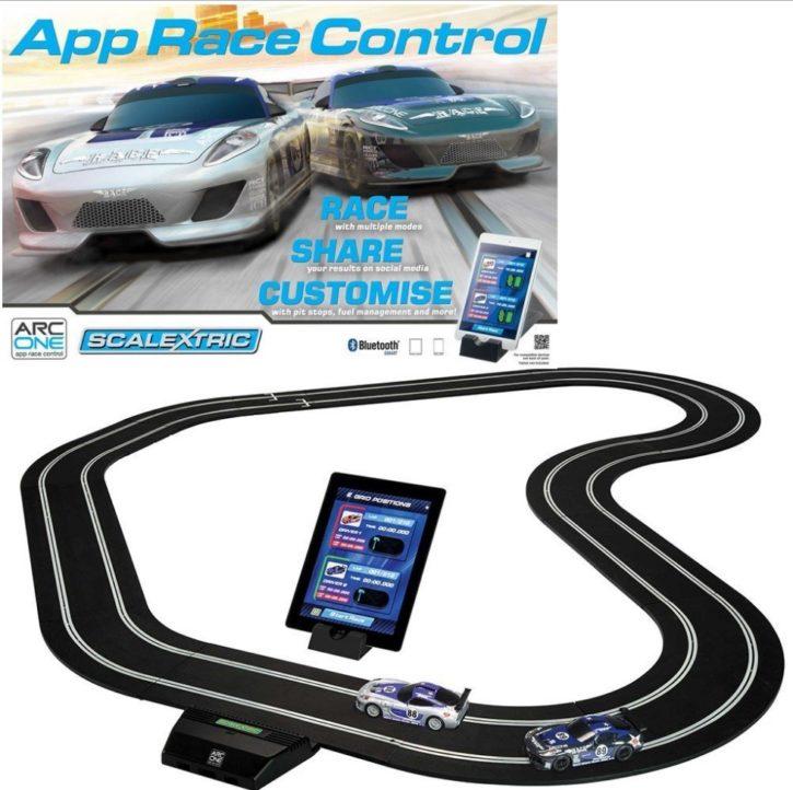 App race control scalextric