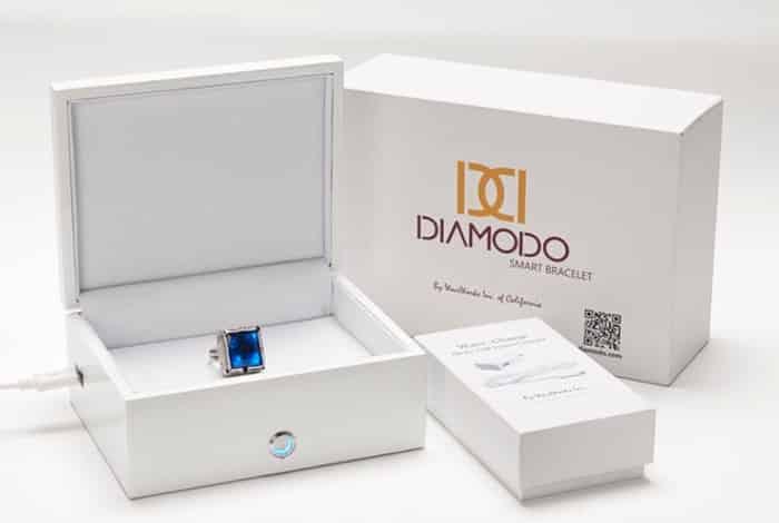 Les bijoux connectés Diamodo