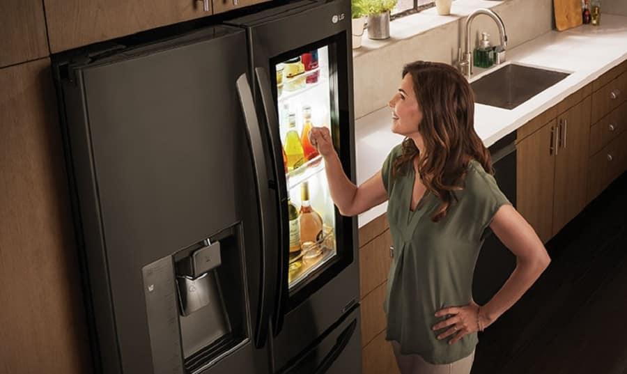 réfrigérateur lg connecté