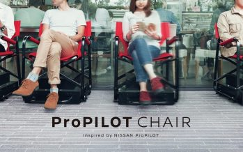 Nissan ProPilot Chair : la chaise autonome contre les files d'attente