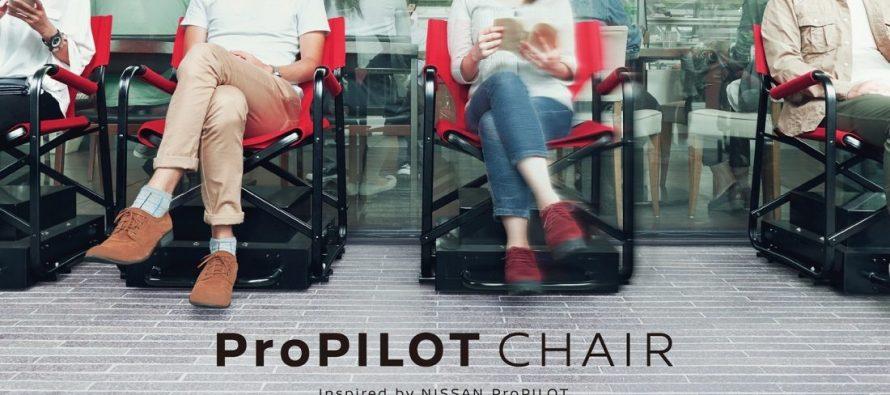 Nissan ProPilot Chair : la chaise autonome contre les files d'attente