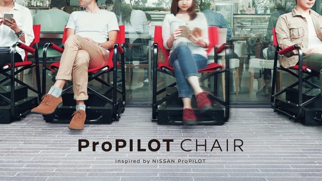 La chaise autonome Nissan Pro Pilot Chair