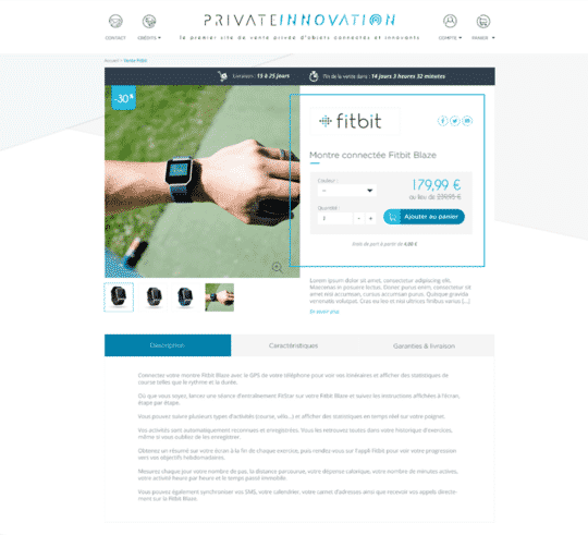 private innovation fitbit