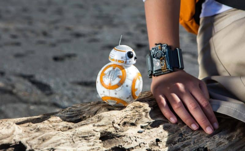Le Sphero Force Band et le droïde BB-8