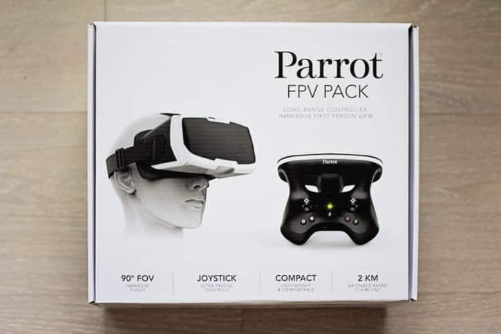 test parrot bebop 2 boîte