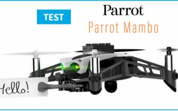 [TEST] Mini drone Parrot MAMBO, du pilotage aux jeux de tir