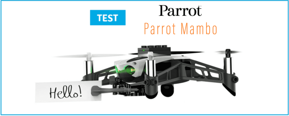 test mini drone parrot mambo