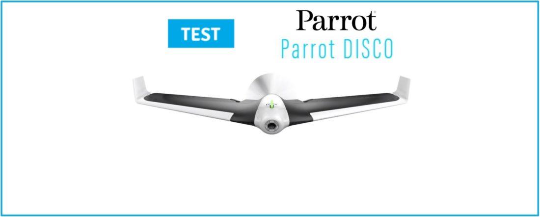 test parrot disco fpv