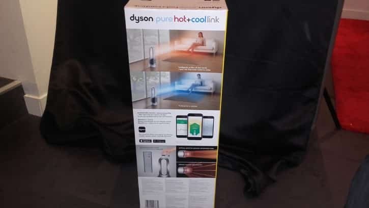 pure hot cold link test complet du purificateur d 39 air de dyson. Black Bedroom Furniture Sets. Home Design Ideas
