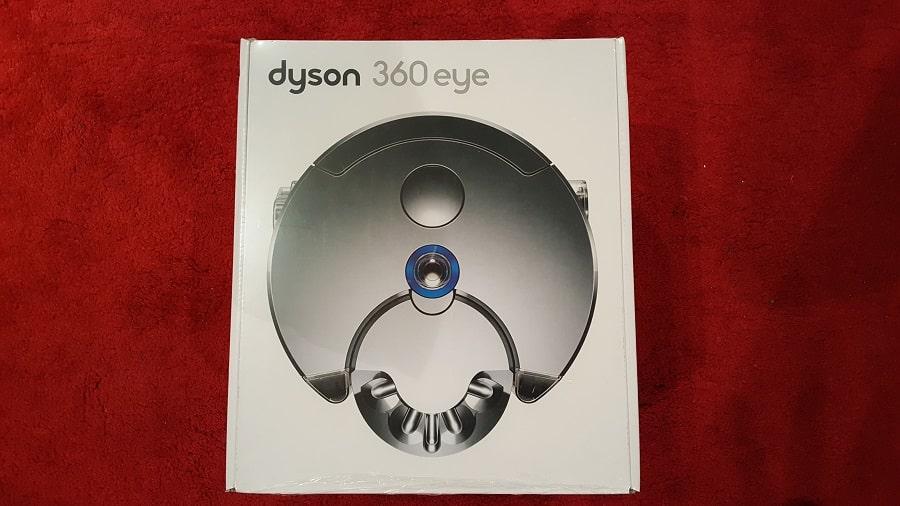 Unboxing Dyson 360 Eye boîte haut