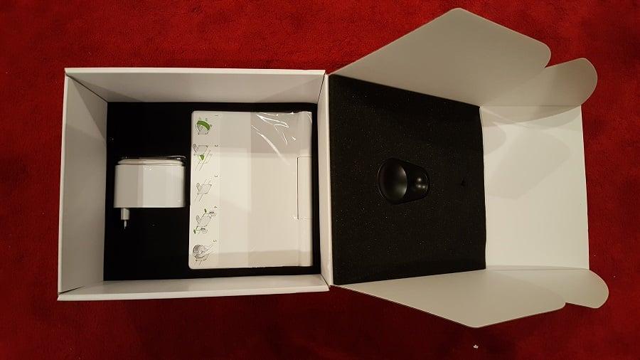 Unboxing Dyson 360 Eye accessoires