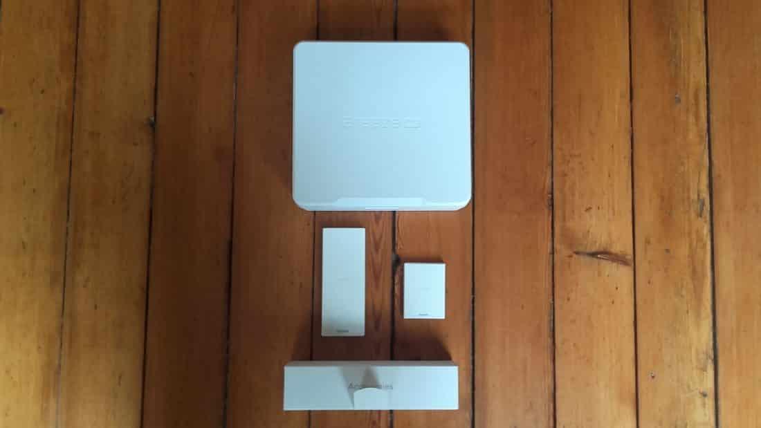 Unboxing Breeze 4k accessoires