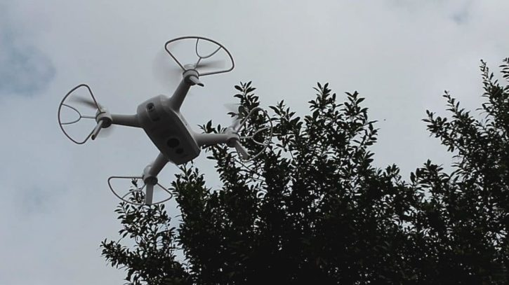 Utilisation Breeze 4k hauteur