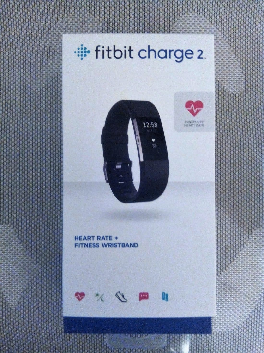 boite fitbit charge 2