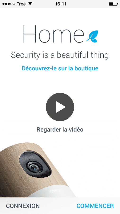 home de withings application