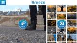 Application Breeze 4k galerie