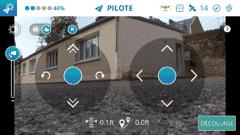 Application Breeze 4k pilotage