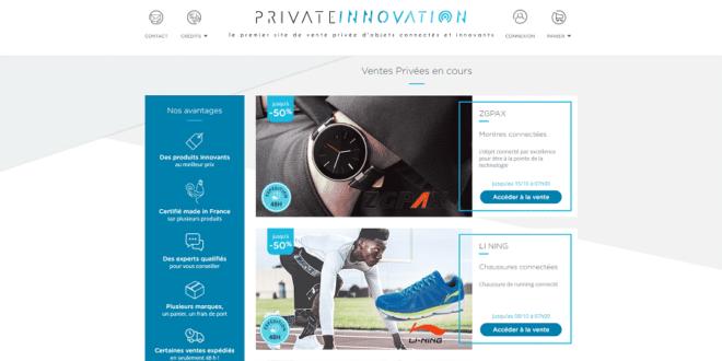 private innovation vente privee