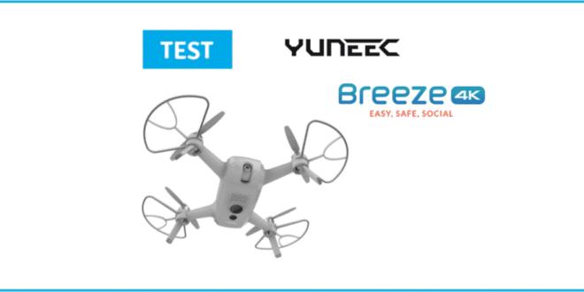test breeze 4k drone
