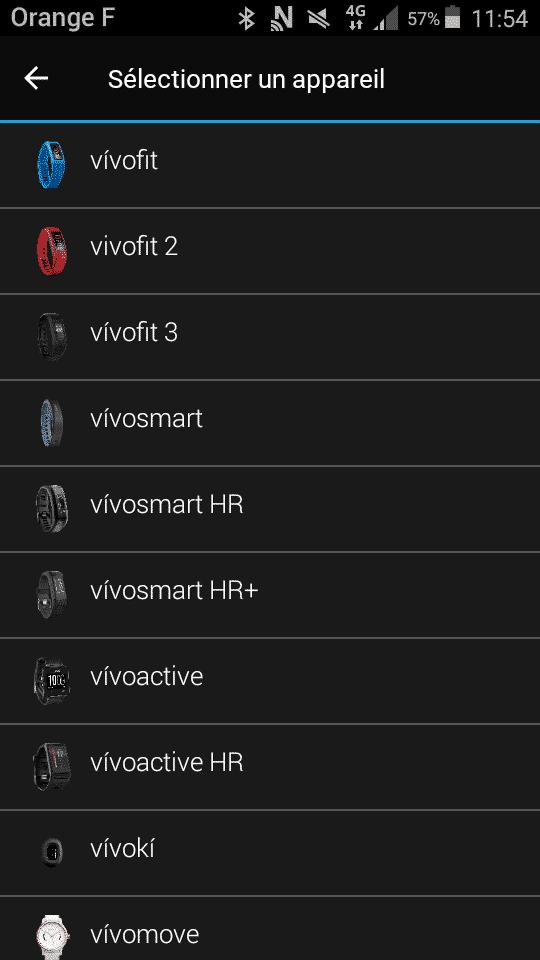 Application Vivoki choix produit