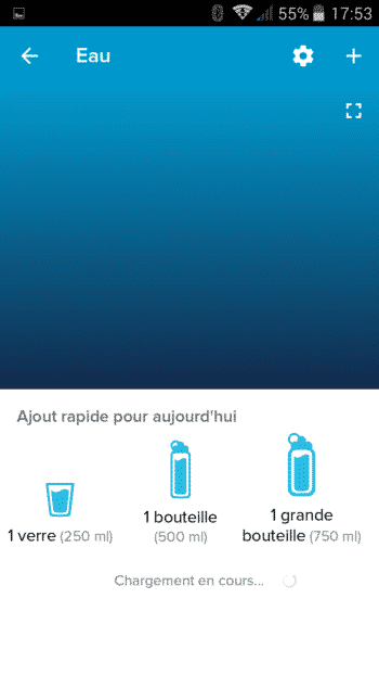 aliment eau fitbit flex 2 test application ajout rapide