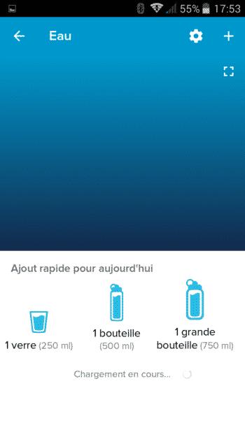 aliment eau fitbit flex 2