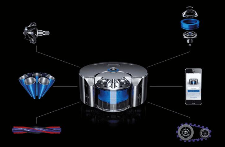 Dyson 360 Eye officielles