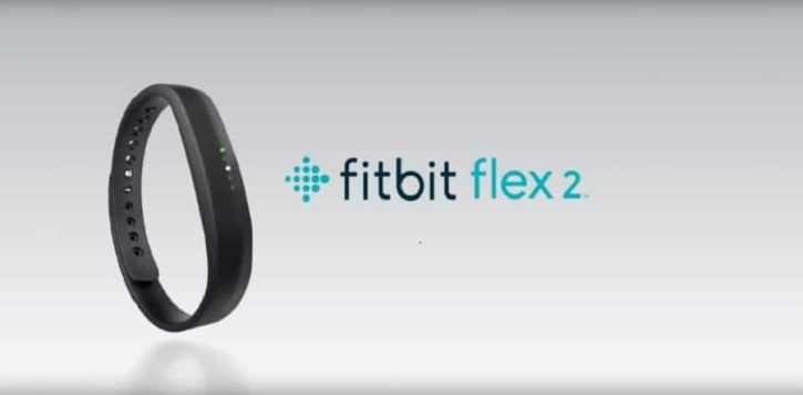 fitbit flex 2 officielles test tracker
