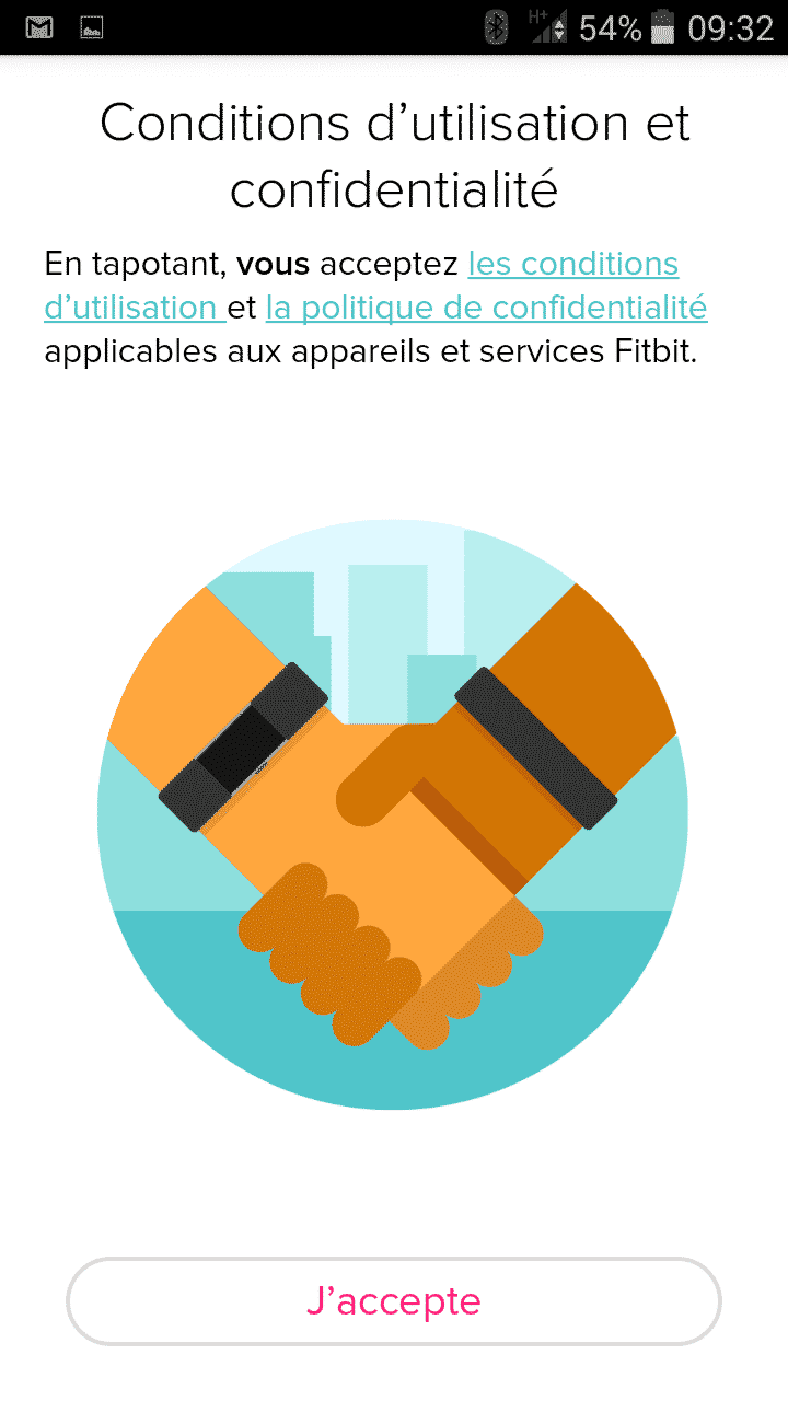 installation fitbit charge 2
