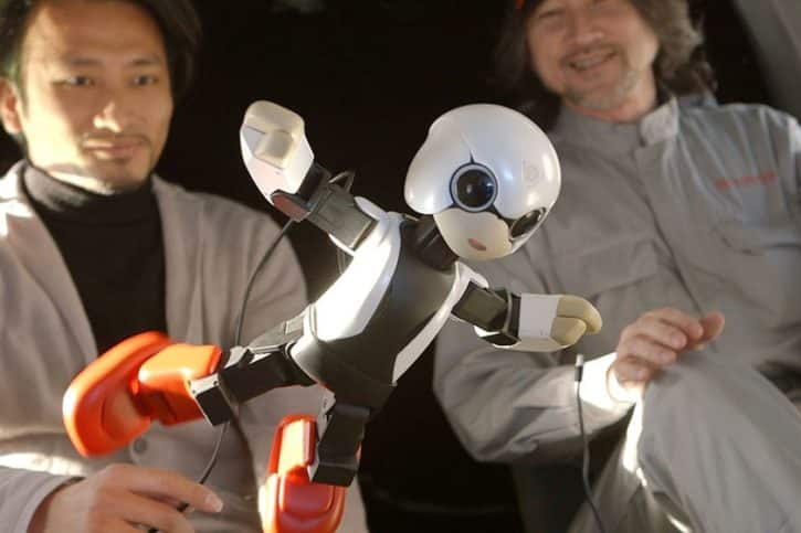 kirobo toyota robot