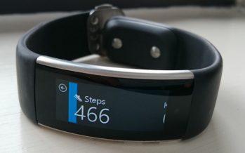 Microsoft Band : le bracelet retiré du Microsoft Store