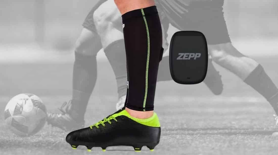 Le traqueur d'activité Zepp Play Soccer pour le football du futur