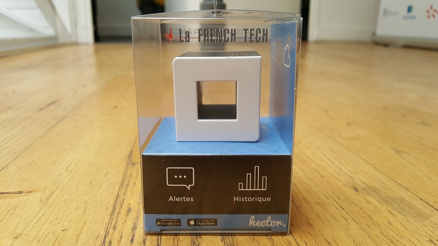 Unboxing Hector face droite