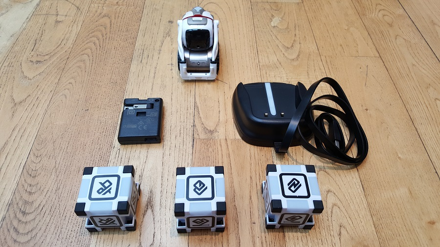 Unboxing Cozmo Anki accessoires