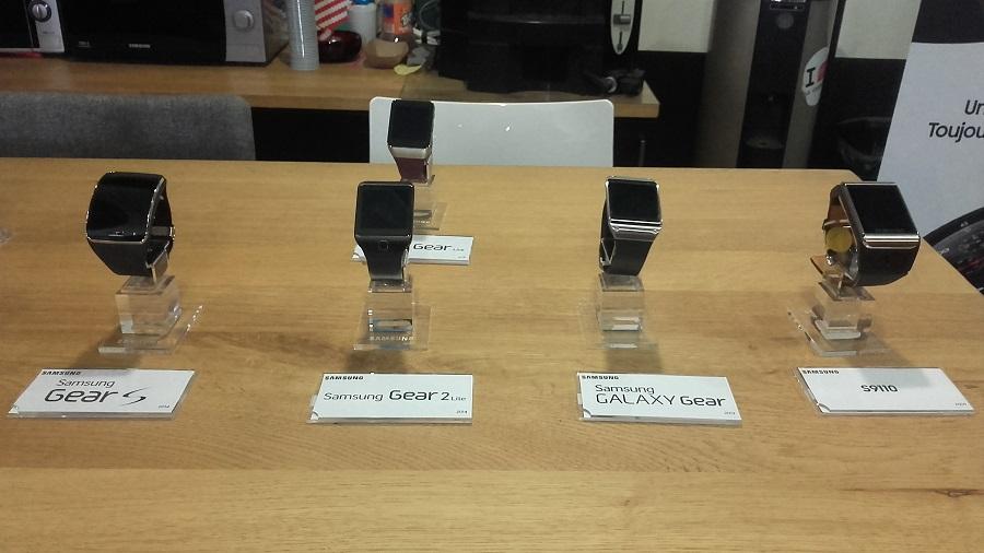 Samsung Gear S3 vs Gear S2 montres