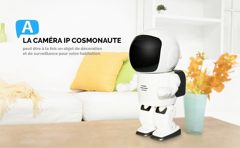 camera ip cosmonaute caméra de sécurité