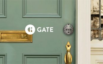 Gate : une serrure connectée équipée d'une caméra