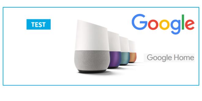 google home assistant vocal connecte