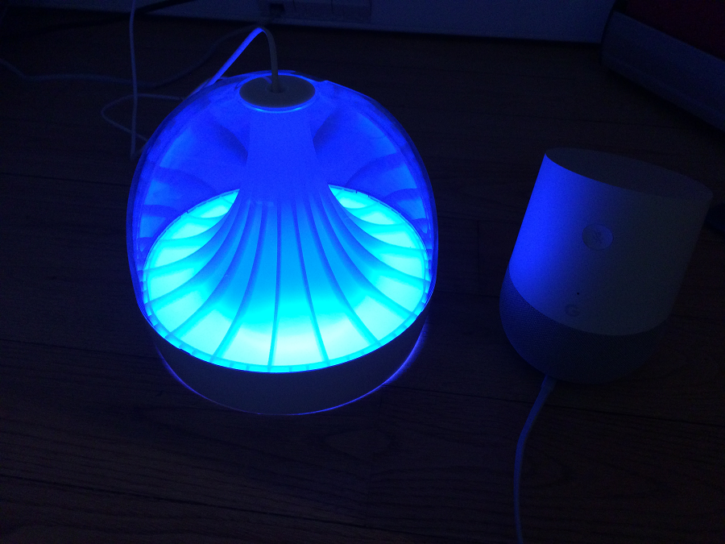 google home lumiere philips hue