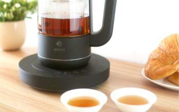 Qi Aerista, la machine à thé intelligente pour des infusions parfaites