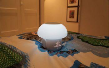 Romi : un drôle de champignon connecté pour illuminer la maison