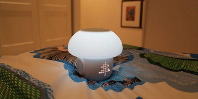 Romi Un Drole De Champignon Connecte Pour Illuminer La Maison