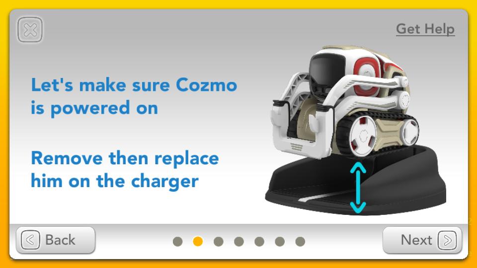 Application Cozmo Anki aide connexion 2
