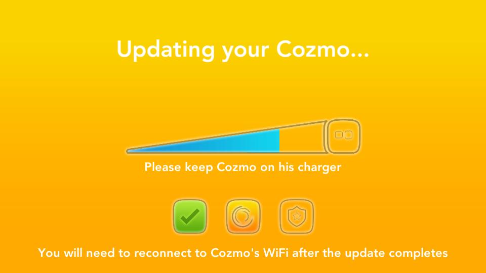 Application Cozmo Anki mise à jour