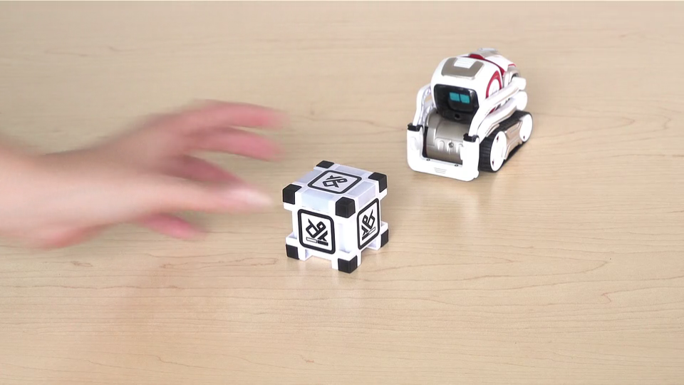 Application Cozmo Anki consignes mini-jeu 2