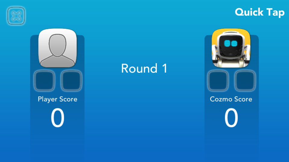 Application Cozmo Anki score
