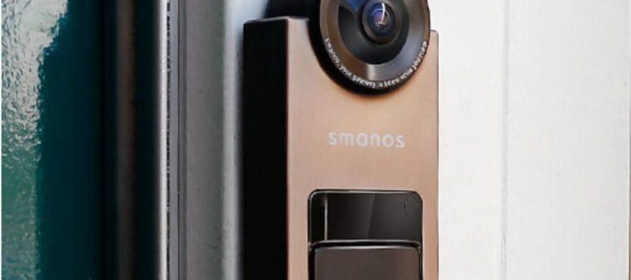 surveiller sa porte d entr e depuis n importe o avec smart video doorbell. Black Bedroom Furniture Sets. Home Design Ideas