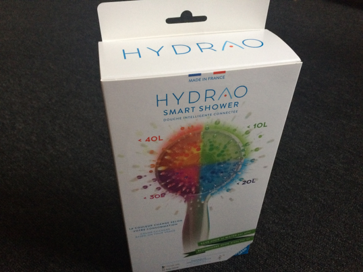hydrao unboxing emballage