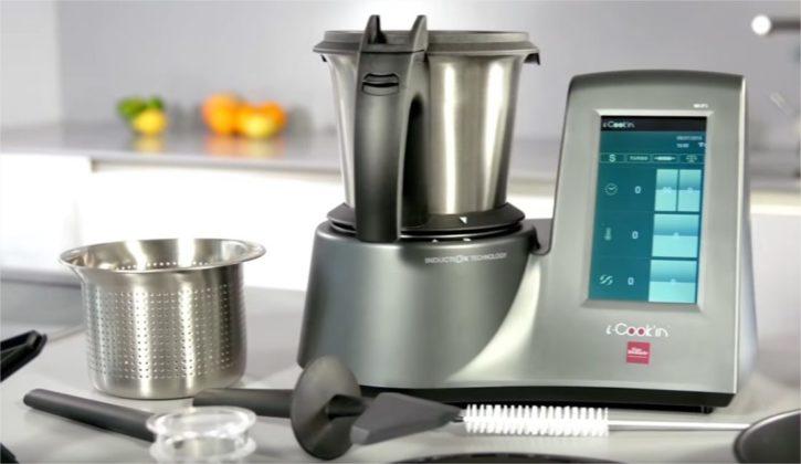 I cook in le robot de cuisine tout faire connect de for Robot de cuisine professionnel