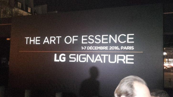 LG Signature galerie